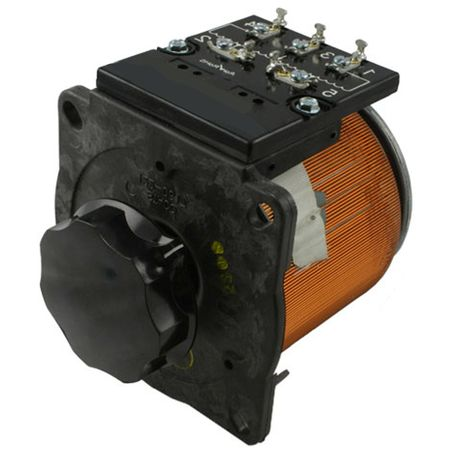 Staco 1020BCT-3 - Variable Transformer, 3 Phase WYE input, 3.5Ao, 0-480Vo, 2.91kVA, Cased, Bench