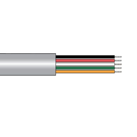 Alpha Wire 1181/25C SL005 - Cable 1181/25C Slate 100 Ft