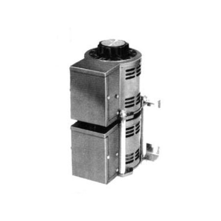 Staco 1220B-3 - Variable Transformer, 3 Phase WYE input, 5Ao, 0-480Vo, 4.16kVA, Open, Panel Mt