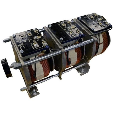 Staco 1510CT-2 - Variable Transformer, Single Phase Series, 15Ao, 0-240Vo, 3.6kVA, Cased, Bench or Panel Mt