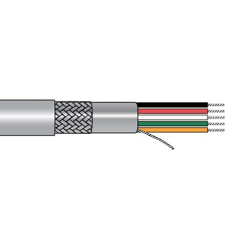 Alpha Wire 3465C SL005 - Cable 3465C Slate 100 Ft