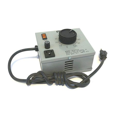Staco 3PN501B - Variable Transformer, Single Phase, 5Ao, 0-140Vo, 0.7kVA, Plug and Cord, Cased, Bench