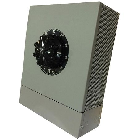Staco 5011CT-2D - Variable Transformer, 3 Phase Open Delta input, 50Ao, 0-140Vo, 12.1kVA, Cased, Bench