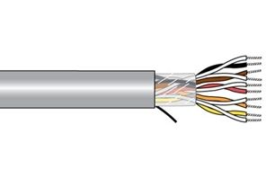 Alpha Wire 5033C SL001 - Xtra-Guard High Performance Cable, Slate 1000 FT