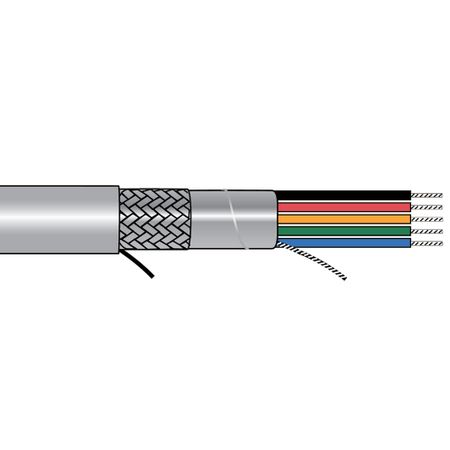 Alpha Wire 5162/1C SL005 - Cable 5162/1C Slate 100 Ft