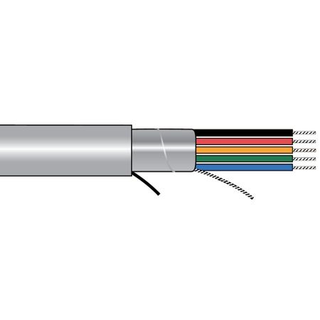 Alpha Wire 5430/7 SL005 - Cable 5430/7 Slate 100 Ft
