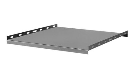 "Bud Industries 60-2381 - 19 inch Rack Shelves-60 series-Accessories 19"" Non-Ventilated Stationary Shelves-L23 X W18 X D1"