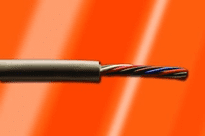 Alpha Wire 6017L SL002 - Cable 6017L Slate 500 Ft