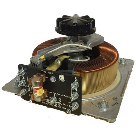Staco 6020-3Y - Variable Transformer, 3 Phase WYE input, 35Ao, 0-480Vo, 29.1kVA, Open, Floor Mt