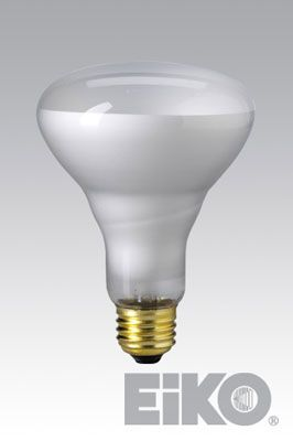 Eiko 65BR30/FL-130V 65W 130V Flood BR30 Medium Base - Incandescent