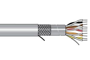 Alpha Wire 86104 SL005 - Cable 86104 Slate 100 Ft