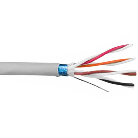 Alpha Wire 78224 SL005 - Cable 78224 Slate 100 Ft