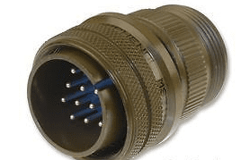 Ampheno 97-3106A-16S-1P - Circular Connector 7 Pole Straight Pin Plug