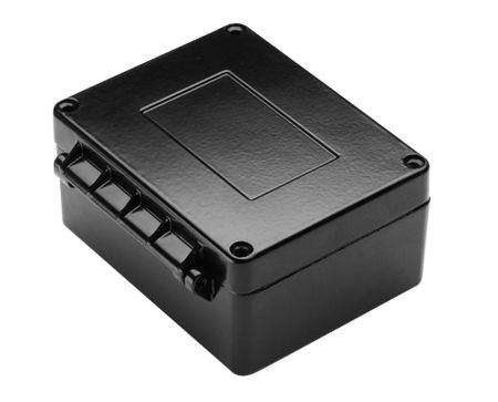 Bud Industries AN-2901 - Die Cast Aluminum Enclosure-AN series-NEMA 4X Box with Hinged Cover-L5 X W4 X D2