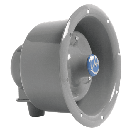Atlas Sound APF-15TUC - Flanged Emergency Signaling Horn Loudspeaker with 25V/70.7V-15W Transformer and Capacitor for Line Supervision