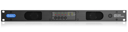 Atlas Sound DPA1202 - Networkable 2-Channel 1200-Watt Power Amplifier