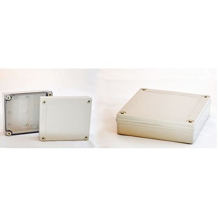 Bud Industries PIP-11772-C - NEMA 4X Enclosures-PIP series-NEMA 4X,6, IP67 with 10% Fiberglass-L7 X W7 X D3