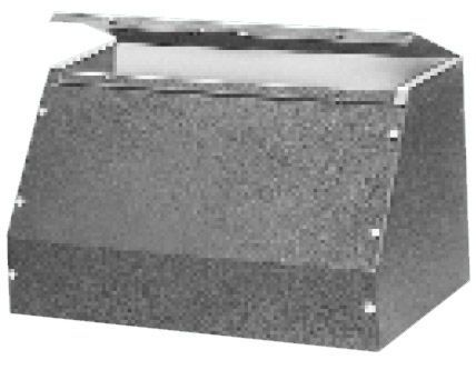Bud Industries C-1893 - Small Metal Electronics Enclosures-C series-Sloping Panel Cabinets-L18 X W10 X D11