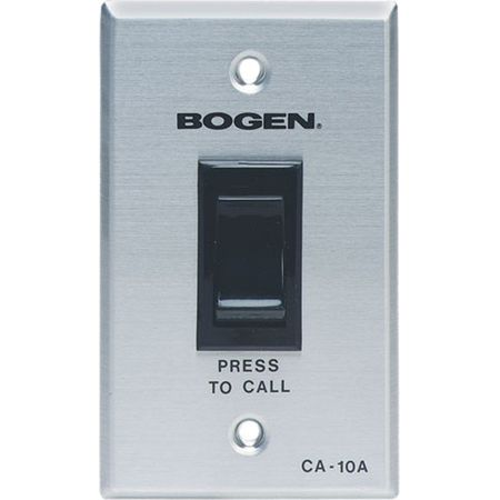 Bogen CA10A - Call Switch With Scr Circuit