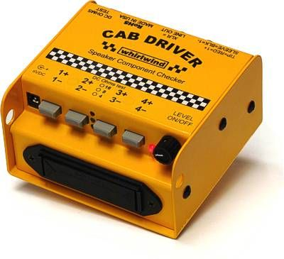 Whirlwind CABDRIVER - Tester - Speaker, polarity, impedance, pink noise generator