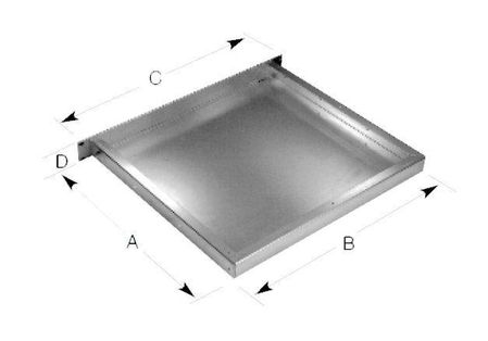 Bud Industries CH-14401 - Aluminum Enclosure-CH series-Small Rack Mount Chassis-L2 X W19 X D8