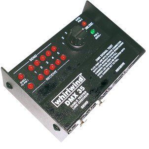 Whirlwind DMX35T - Tester - 3 and 5 pin DMX cable and data tester