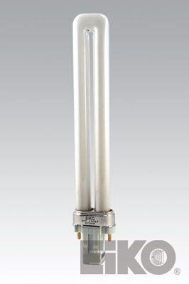 Eiko DT13/27 13W Duo-Tube 2700K GX23 Base Compact Fluorescent - Cf Lamps