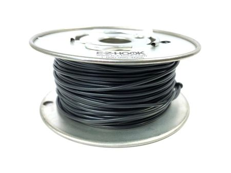 E-Z Hook 9504-100BLK - PVC insulated  100 foot wire spool, 22 AWG, black
