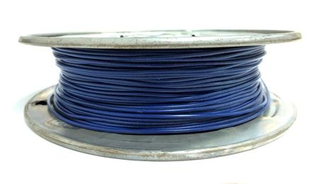 E-Z Hook 9504-100BLU - PVC insulated  100 foot wire spool, 22 AWG, blue