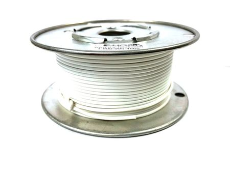 E-Z Hook 9504-100WTE - PVC insulated  100 foot wire spool, 22 AWG, white