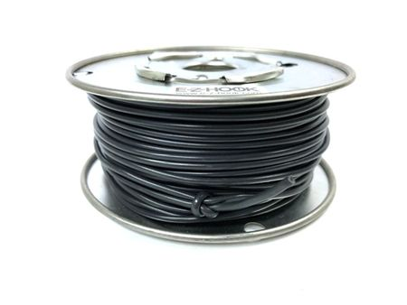 E-Z Hook 9505-100BLK - PVC insulated  100 foot wire spool, 20 AWG, black