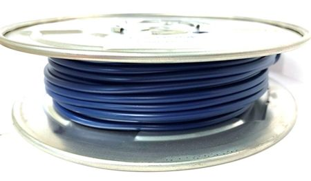 E-Z Hook 9506-100BLU - PVC insulated  100 foot wire spool, 18 AWG, blue