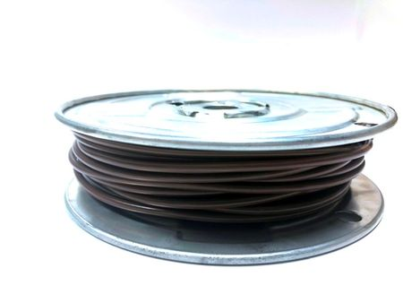 E-Z Hook 9506-100BRN - PVC insulated  100 foot wire spool, 18 AWG, brown