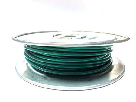 E-Z Hook 9506-100GRN - PVC insulated  100 foot wire spool, 18 AWG, green