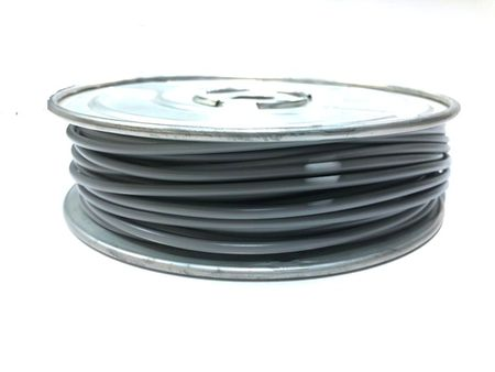 E-Z Hook 9506-100GRY - PVC insulated  100 foot wire spool, 18 AWG, gray