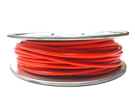 E-Z Hook 9506-100ORN - PVC insulated  100 foot wire spool, 18 AWG, orange