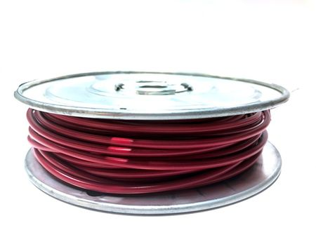 E-Z Hook 9506-100RED - PVC insulated  100 foot wire spool, 18 AWG, red