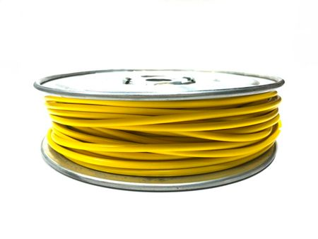 E-Z Hook 9506-100YEL - PVC insulated  100 foot wire spool, 18 AWG, yellow
