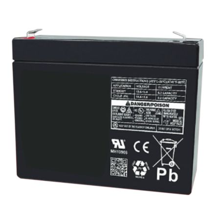 MK Battery ES3-12R - 12 Volts, 3 Amp Hours (20 Hours) Small Sealed Battery