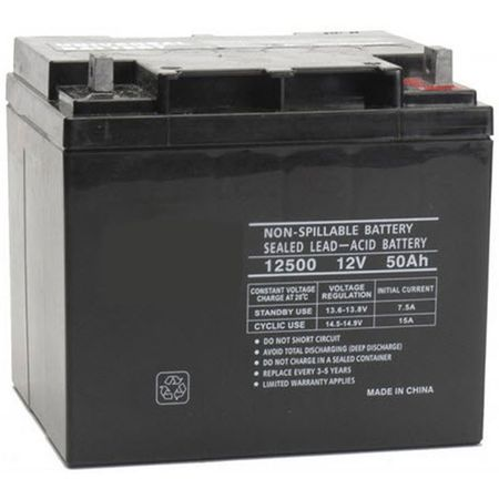 MK Battery ES40-12 - 12 Volts, 45 Amp Hours (20 Hours) Small Sealed Battery