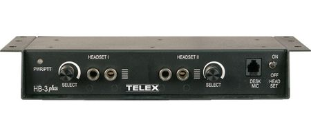 Telex Radio Dispatch F.01U.117.762 HB-3 Plus-US ADAPTER BOX.