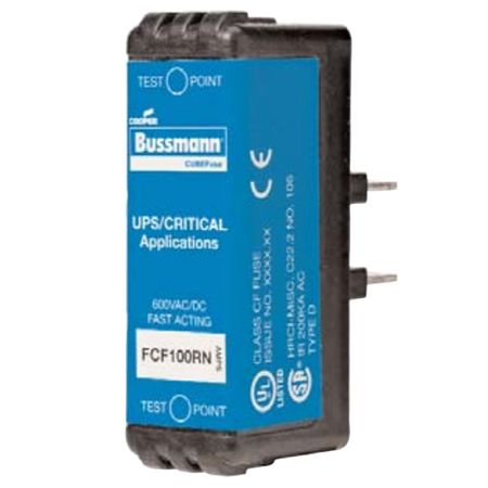Bussmann FCF50RN - Fast Acting Cubefuse 50A Non-Indication, 051712362528