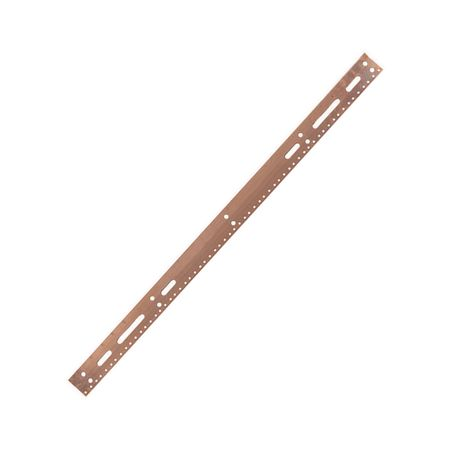 Lowell GBB-36 Grounding Bus Bar-36in Long Copper