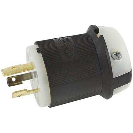 Hubbell HBL2311 - AC - Connector, L5-20, inline, male, Hubbell