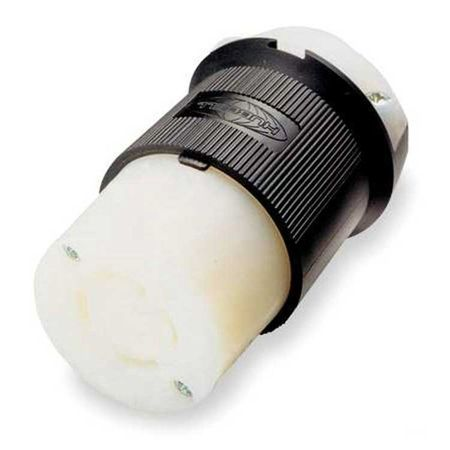 Hubbell HBL2313 - AC - Connector, L5-20, inline, female, Hubbell