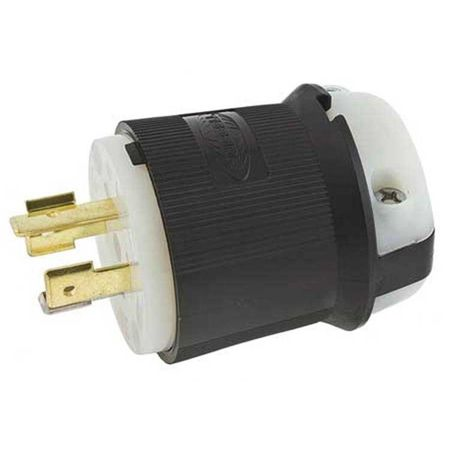 Hubbell HBL2411 - AC - Connector, L14-20, inline, male, Hubbell