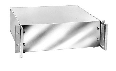 Bud Industries HC-14101 - Aluminum Enclosure-HC series-Aluminum Valuline Series with handles-L4 X W17 X D13