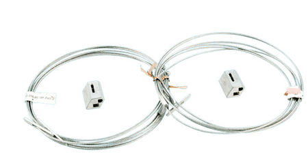 Howard Lighting HF-WCH 3 - Wire cable hanging kit (2 pcs. Per kit; 5-FT LONG)
