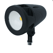 "Howard Lighting BLED-B-4 - LED Flood, 45 Watts, 4000K CCT, 120-277V, w/ 1/2"" NPT Swivel Arm"