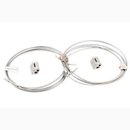Howard Lighting HF-WCH3-10 - Wire cable hanging kit 10ft (2 pcs. Per kit)